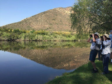 On the banks of the Breede