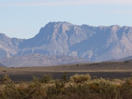 The distant Matroosberg