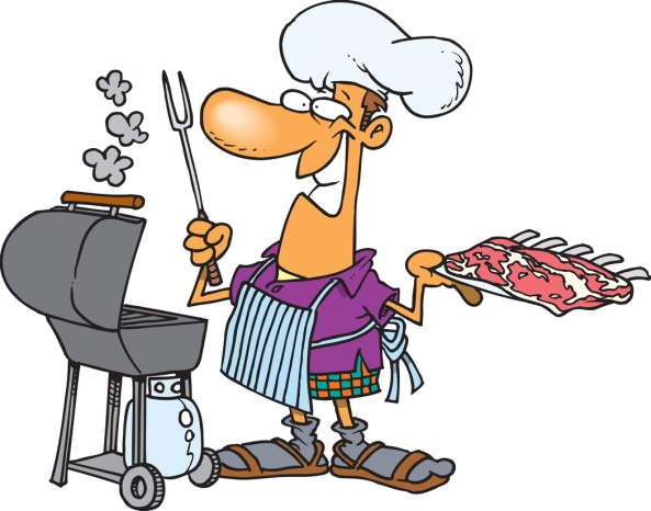 Funny-Barbecue-man